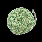 Шпагат для колбас хб бело-зеленый 50 м